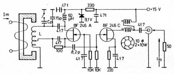 PLL-VFO mit magnetisch gesteuerter Induktivität