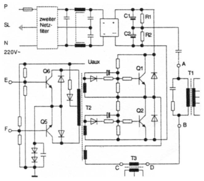 12 V / 17 A im 33 kHz Takt