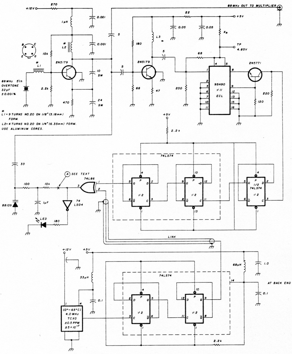 High Stability Local Oscillators For Microwave Receivers And Other Simple Variable Frequency Oscillator Circuit Fig 3
