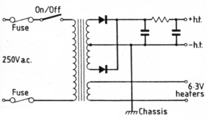 Restoration of old valve receivers