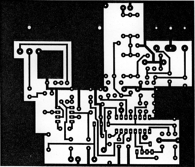 the pw chatterbox 2 PCB Packaging Design 2 2 the chatterbox receiver p c b copper track layout