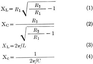 A Tuned-line matching transformer