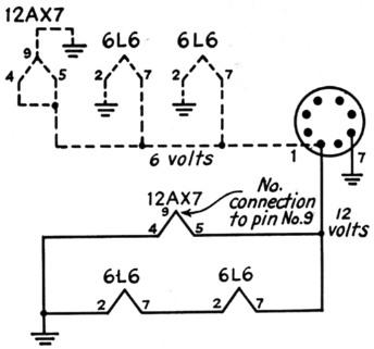 12ax7 heater wiring diagram technical diagrams Water Heater Wiring Diagram