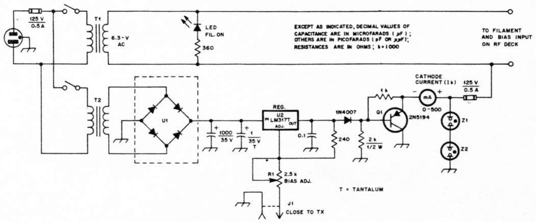 fig1 a quater kilowatt 23 cm amplifier 2 powerstat variable autotransformer wiring diagram at soozxer.org