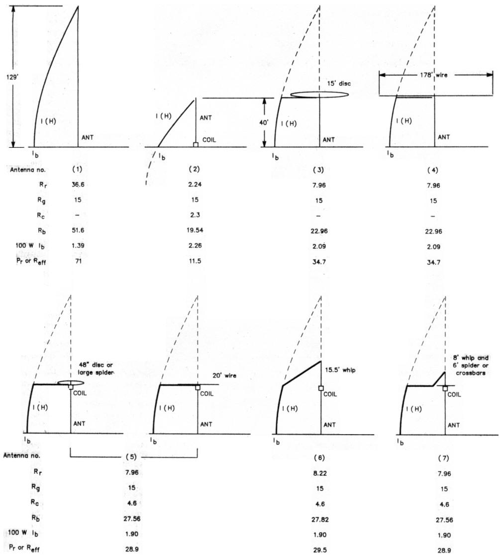 Evolution of the short top-loaded vertical