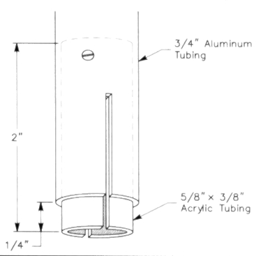 A ground-coupled portable antenna
