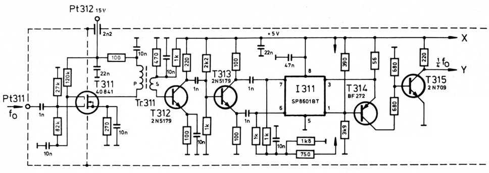 Kurzwellen-Empfangskonverter für 2-m-Empfänger