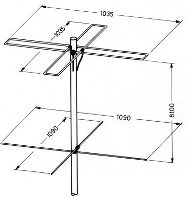 antennen f r den empfang der umlaufenden wettersatelliten im 137 mhz band. Black Bedroom Furniture Sets. Home Design Ideas