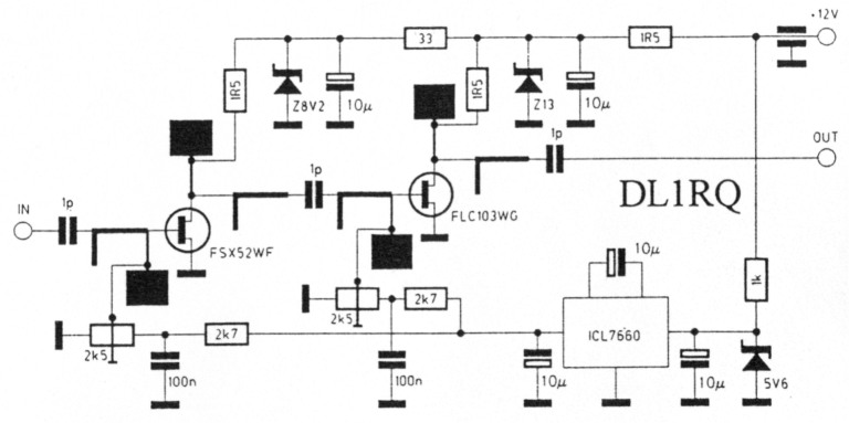 GaAs-FET-Endstufen bis 5 W für 10 GHz